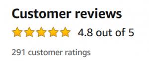 Amazon ACOL Star Ratings