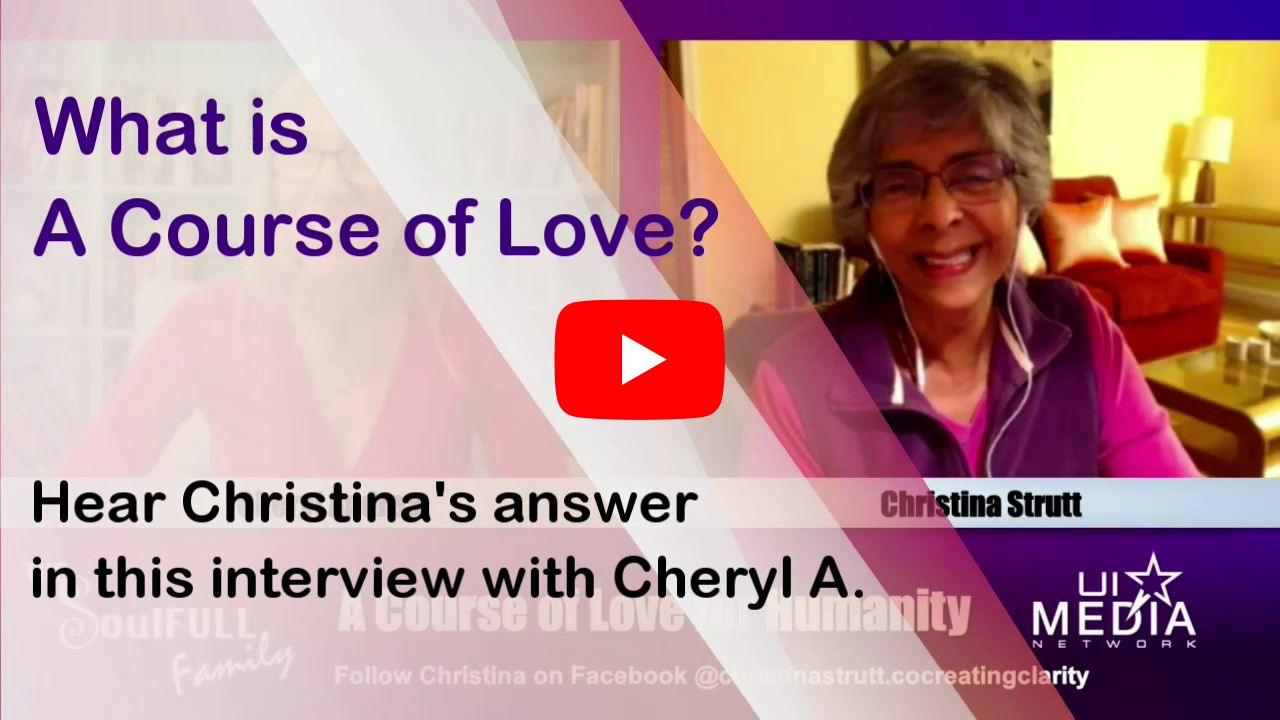 What is A Course of Love?