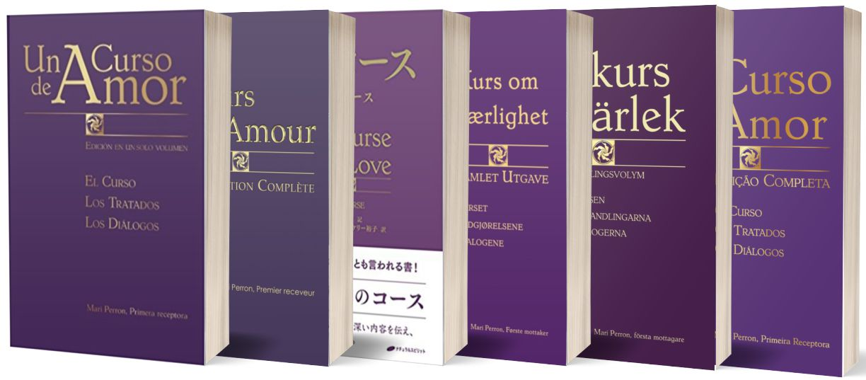 A Course of Love - Book Cover Translations